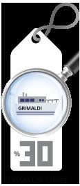 Grimaldi Lines Return Trip Discount