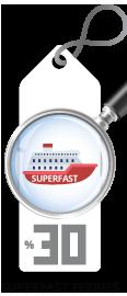 Superfast Ferries Geri Dönüş İndirimi